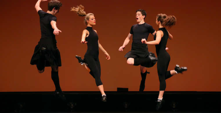 Trinity Irish Dance Company  (photo credits: William Frederking)