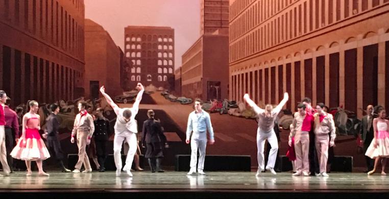 """The Joffrey Ballet in Krzysztof Pastor's """"Romeo and Juliet"""""""