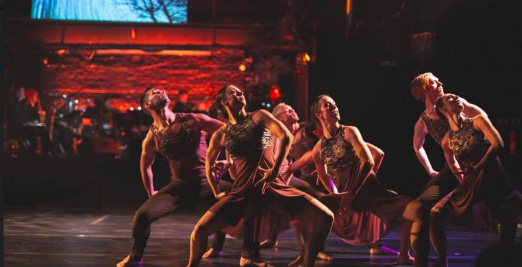 "Cerqua Rivera Dance Theatre in Monique Haley's ""Root"" (photos: Leni Manaa-Hoppenworth)"