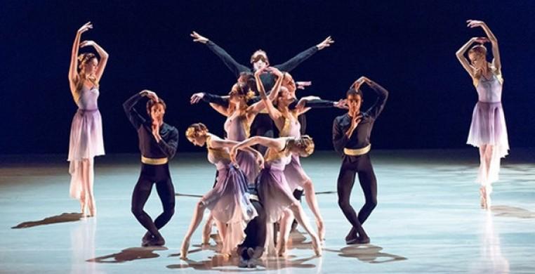 """Ballet Chicago in """"Celestial Rites"""""""