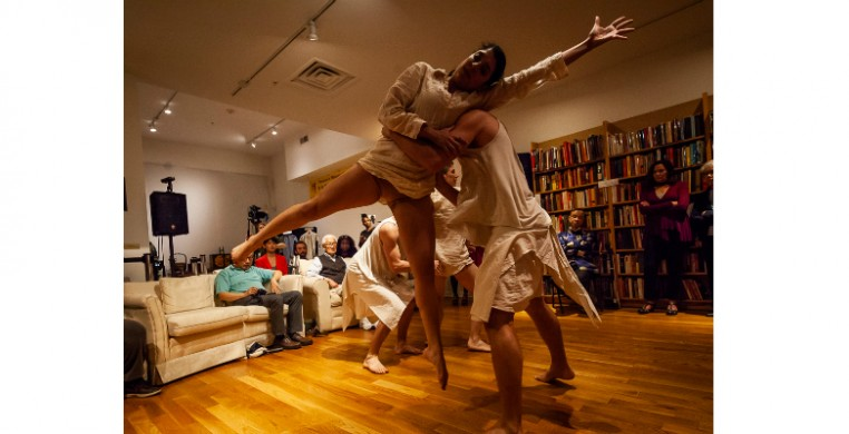 Moving Dialogs: Culture in Motion featuring  Valerie Alpert Dance Company at the Chinese-American Museum of Chicago