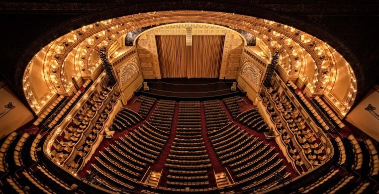 Auditorium Theatre, photo by Brendan Dimitro.