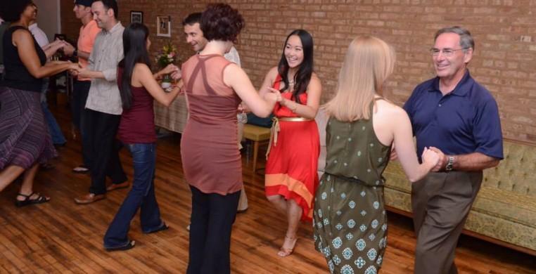Duet dance studio ballroom class