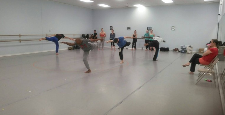 Winifred Haun and Dancers in residence at Principle Dance 2014-2015