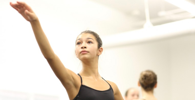 Youth Dance Programs at the Hubbard Street Dance Center. Photo by Todd Rosenberg.