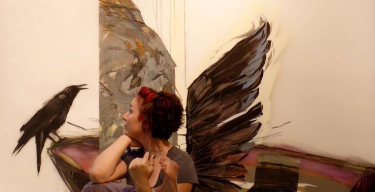 Wing Twist- artwork and photo by Corinne Duchesne