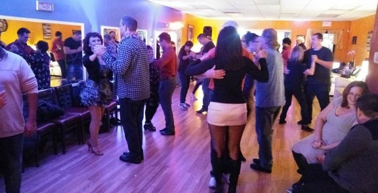 One of CDF's monthly school dances