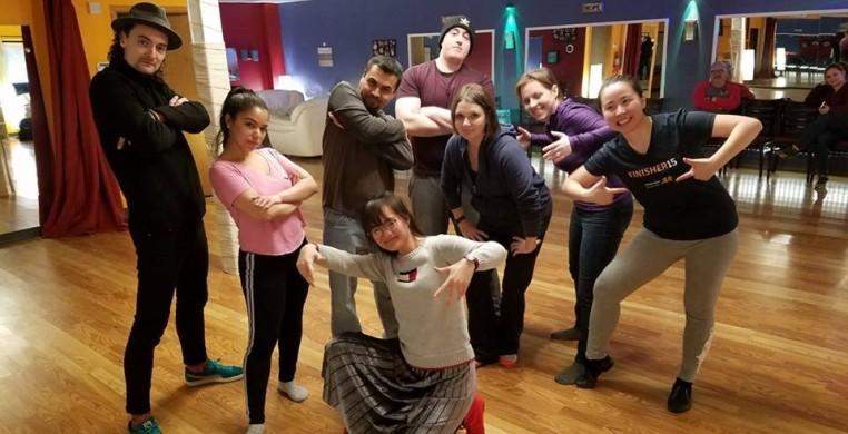 CDF's Adult Hip-Hop Class on Mondays @ 7:15