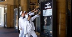 "The Auditorium's ""Fancy Free"" sailors hit Chicago!"