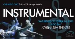 Nomi Dance Company Presents INSTRUMENTAL
