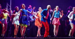"""Members of each of the three companies perform together """"Somebody to Love,"""" choreography by Chicago Tap Theatre's Mark Yonally from We Will Tap You!"""