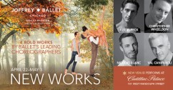 "The Joffrey Ballet's ""New Works"""