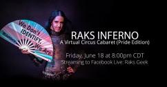 Raks Inferno: A Virtual Circus Cabaret