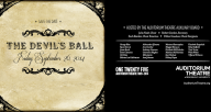 The Auditorium Theatre of Roosevelt University's Auxiliary Board Presents: The Devil's Ball!