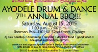Ayodele Drum & Dance 7th Annual BBQ