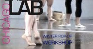 A contemporary ballet workshop with Paige Caldarella and Emily Stein