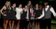 Chicago Dance Crash 2015 Black White Red