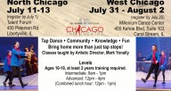 Chicago Tap Theatre Summer Intensives 2018
