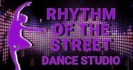 Rhythm of the Street Dance Studio Logo