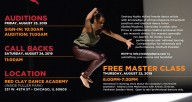 Red Clay Dance Company Auditions
