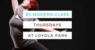 $5 Modern Dance Classes