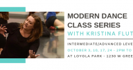 Modern Dance Class with Kristina Fluty
