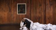 """Dancer Damon Green in """"Push Pull"""" at South Side Community Art Center"""