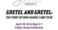"Join jorsTAP chicago at the end of April at the Fulton Street Collective for a new remake of the classic fairytale ""Hansel and Gretel."" With artistic collaborator David Lee Csicsko, these tap dancers will take you on a mystical journey through the woods."