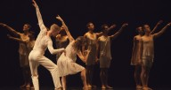 "Ballet Austin in Lar Lubovitch's ""Dvorak Serenade."" Courtesy of Harris Theater"