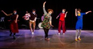 "Chicago Tap Theatre performing ""A Spring in Our Step,"" available online through April 4. Photo by Philamonjaro"
