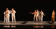 """Hubbard Street Dance Chicago in """"The Bystander"""" by Kyle Abraham. Photo by Cheryl Mann."""