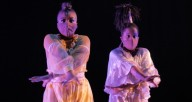 """A scene from """"Incarnation 1,"""" part of the """"Visions & Voices"""" digital concert by Red Clay Dance Company"""