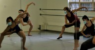 Some students at the Hyde Park School of Dance returned to the studio under the phase 3 guidelines, while others take class from home on Zoom. We talked to director August Tye about how they're making it work. Photo by Aislinn McGhee Hassrick