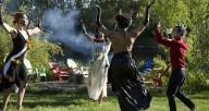 A scene from 'Visita a Nuestra Muertos,' a dance film created by Silvita Diaz Brown and screened in celebration of Dia de Los Muertos.