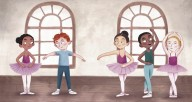 "American Ballet Theatre's newly released children's book B Is for Ballet: A Dance Alphabet will launch on ABTKids, a family-friendly program streamed for free on ABT's YouTube Channel. ""B is for Ballet"" illustrations (including above) by Rachel Dean"