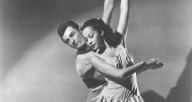 """Ruth Ann Koesun and John Kriza in Michael Kidd's """"On Stage"""" 1947"""