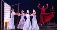 "The Martha Graham Company in ""Appalachian Spring"""
