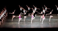 "Miami City Ballet in Balanchine's ""Symphony In Three Movements"""