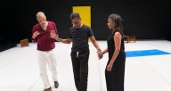 "Ishmael Houston Jones, Ralph Lemon, and Bebe Miller in ""Relations"""