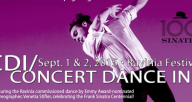 Concert Dance, Inc. Sept. 1-2