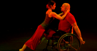 "Anita Fillmore Kenney and Kris Lenzo in MOMENTA's ""Tango #4"""