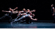 "Hubbard Street Dance Chicago in ""Solo Echo"" by Crystal Pite (Photo By Todd Rosenberg)"