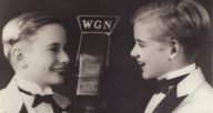 """Charles Grass and Bob Fosse, age 12, as """"The Riff Brothers"""""""