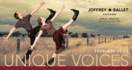 "The Joffrey Ballet: ""Unique Voices"""