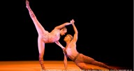 "Tina Monica Williams and Vernard Gilmore in Alvin Ailey's ""Hidden Rights"""