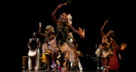 Muntu performing Balante